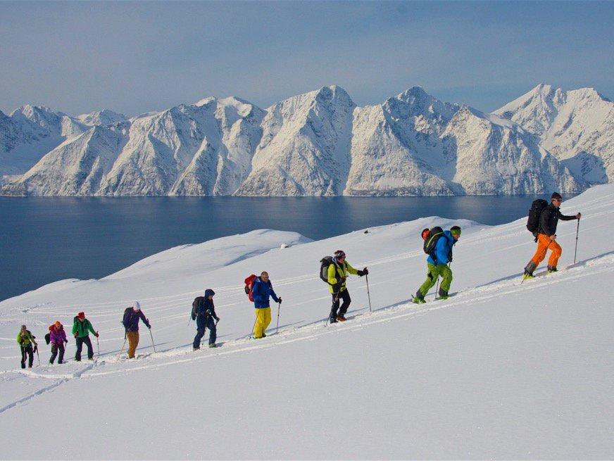 Skiing Norway with Lyngen Lodge