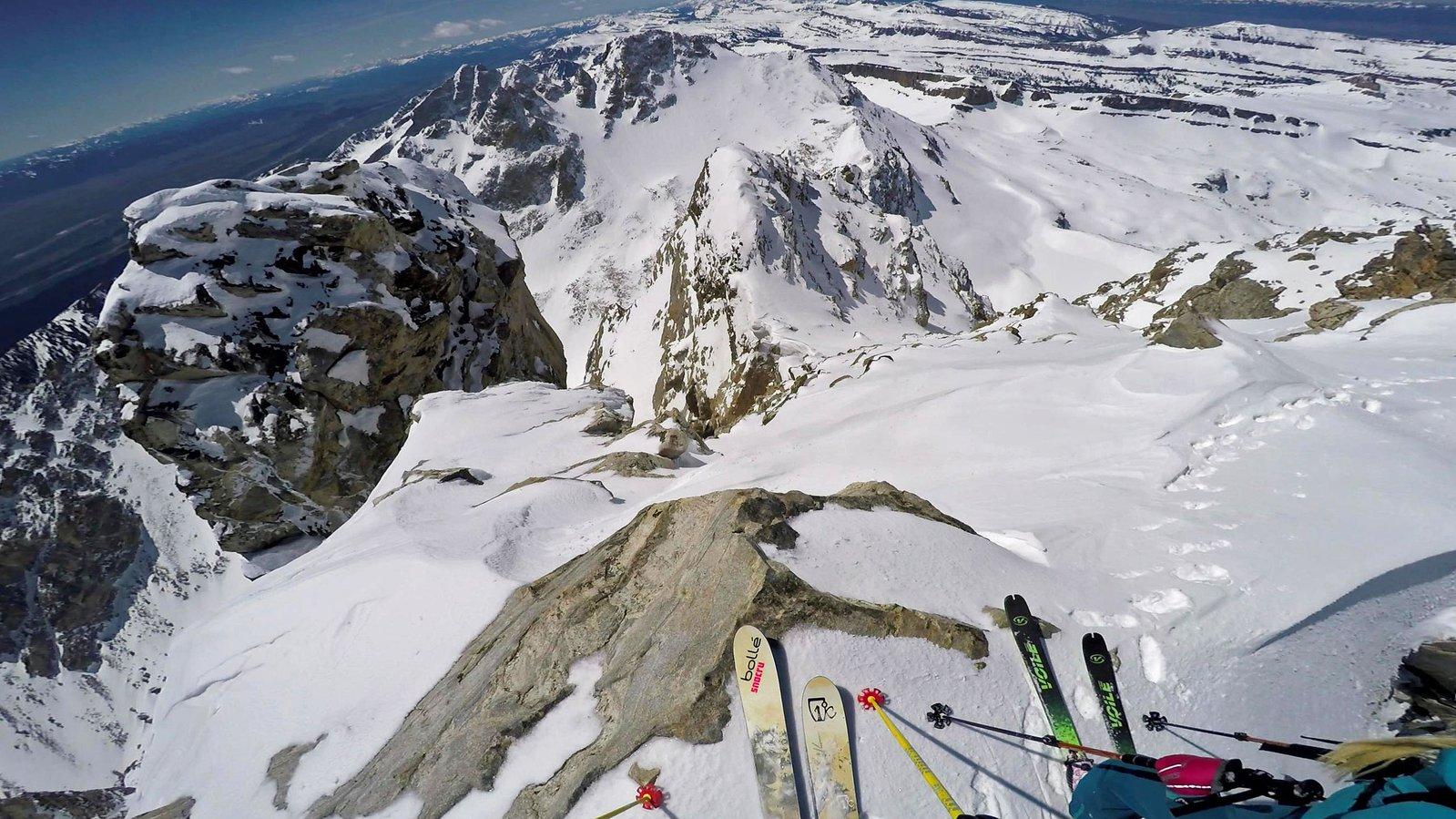Summit of Middle Teton