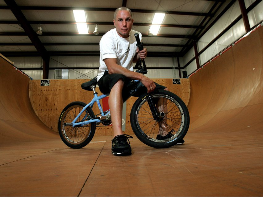 The BMX Rider Dave Mirra Is Found to Have Had C.T.E.