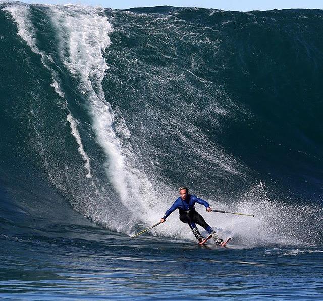 Big Wave skiing