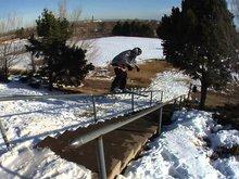 """Flashback Friday """"Urban Ski Reel"""""""