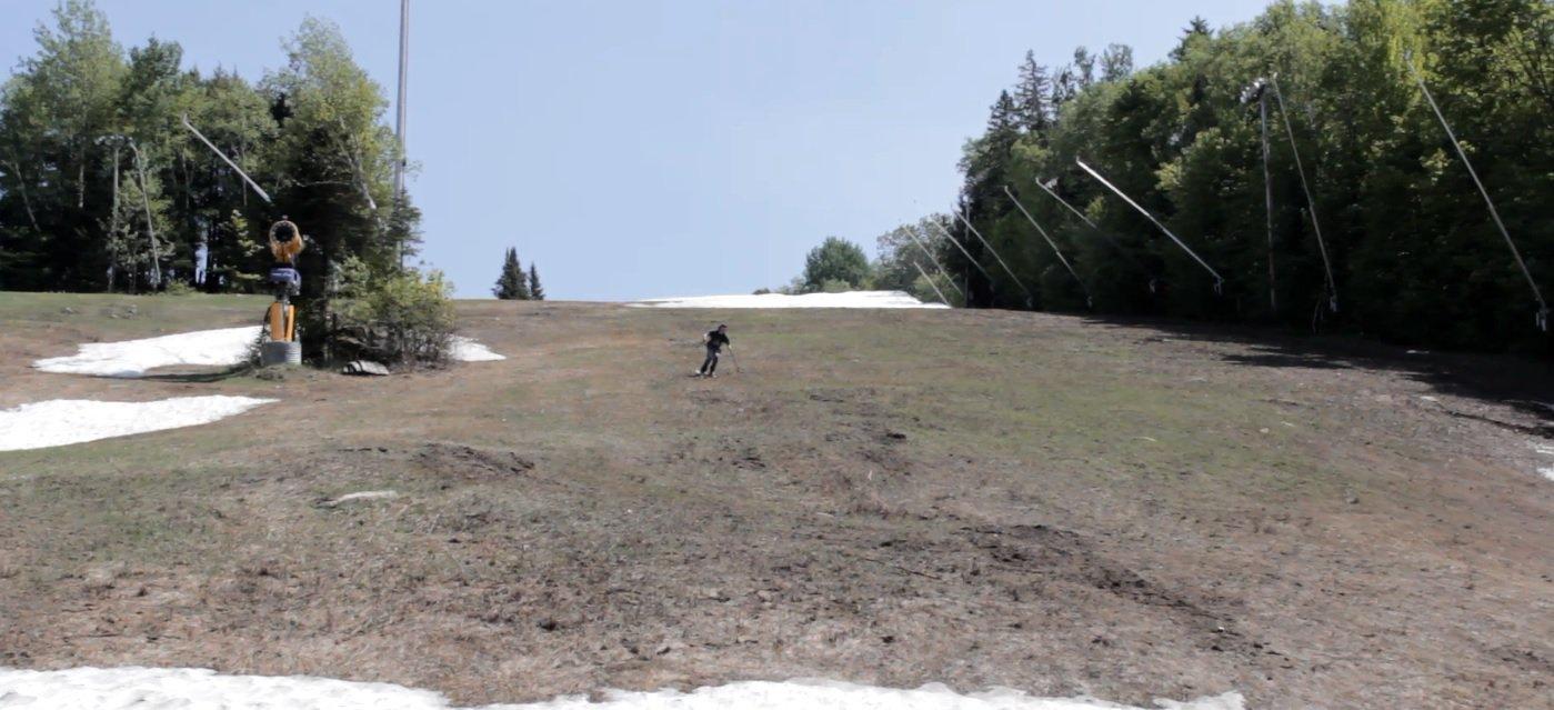 Grass Skiing