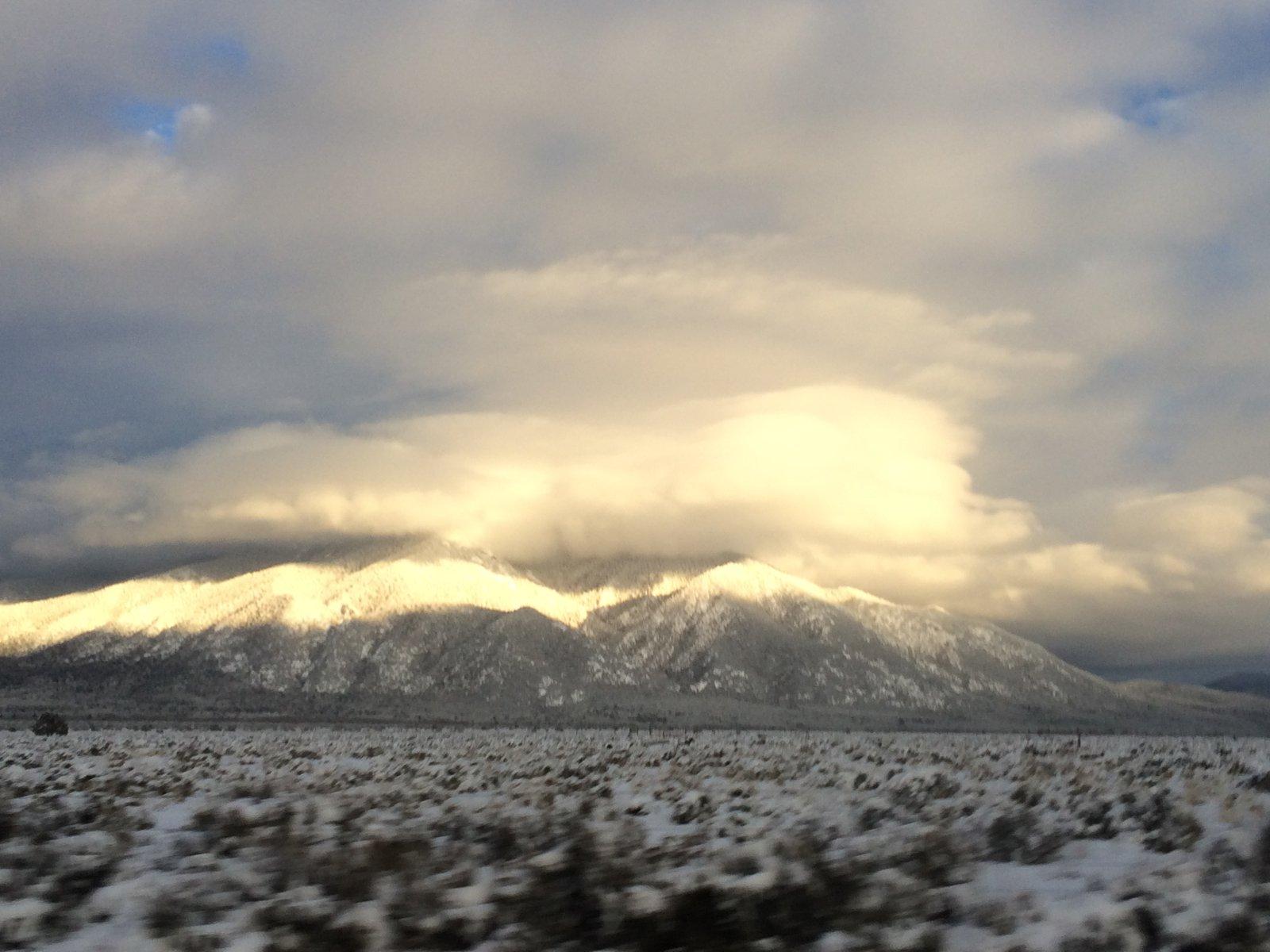 Taos Mountain going home