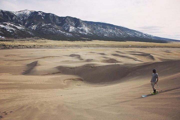 Skiing in the desert!