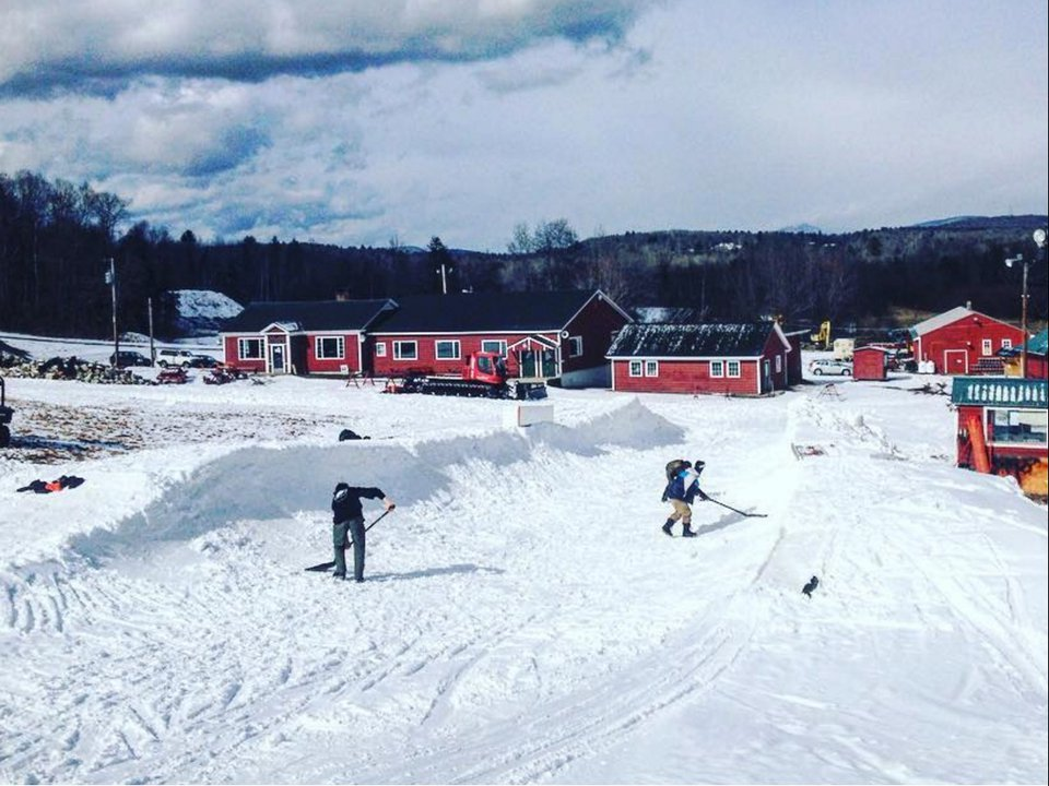 Pukwana Pipe: A rider built Halfpipe in backwoods Maine