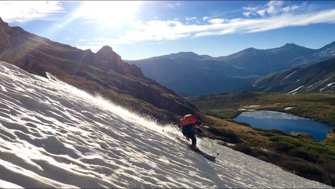 June Skiing aint half bad