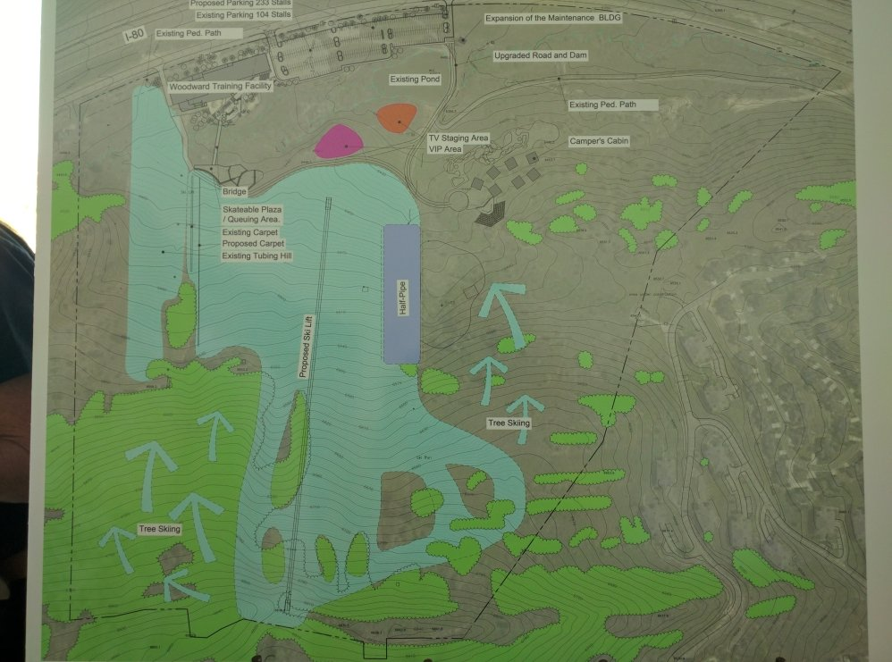 Plan for Woodward Park City