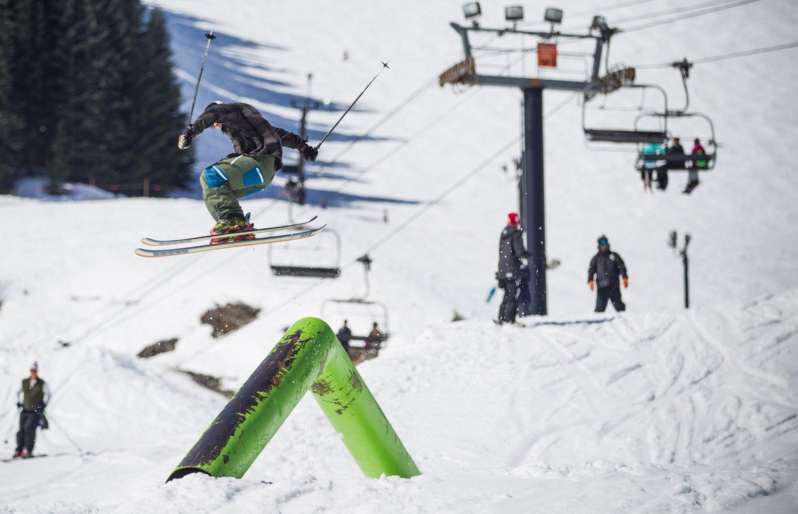 Spring Slush in Summit Parks