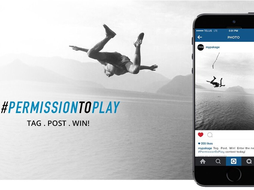 MyPakage Brings Back #PermissionToPlay Photo Contest
