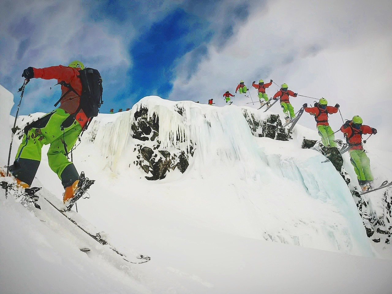 Dropping Icewall