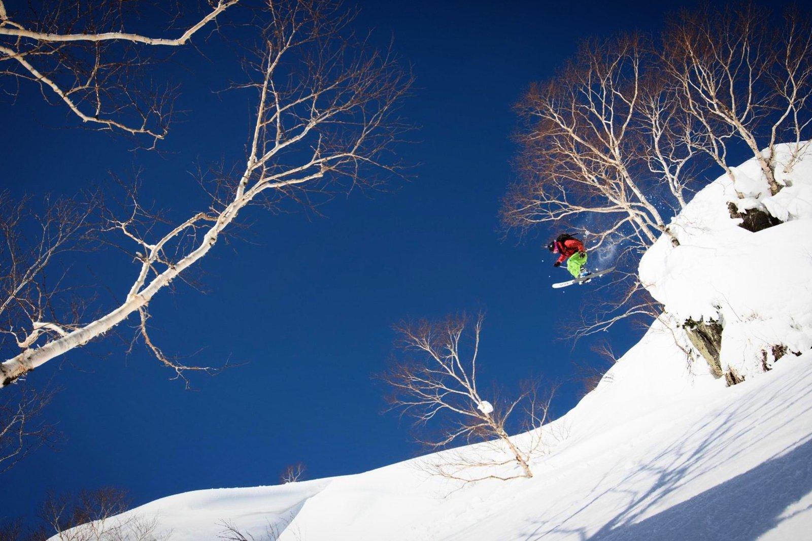 One ski to POW