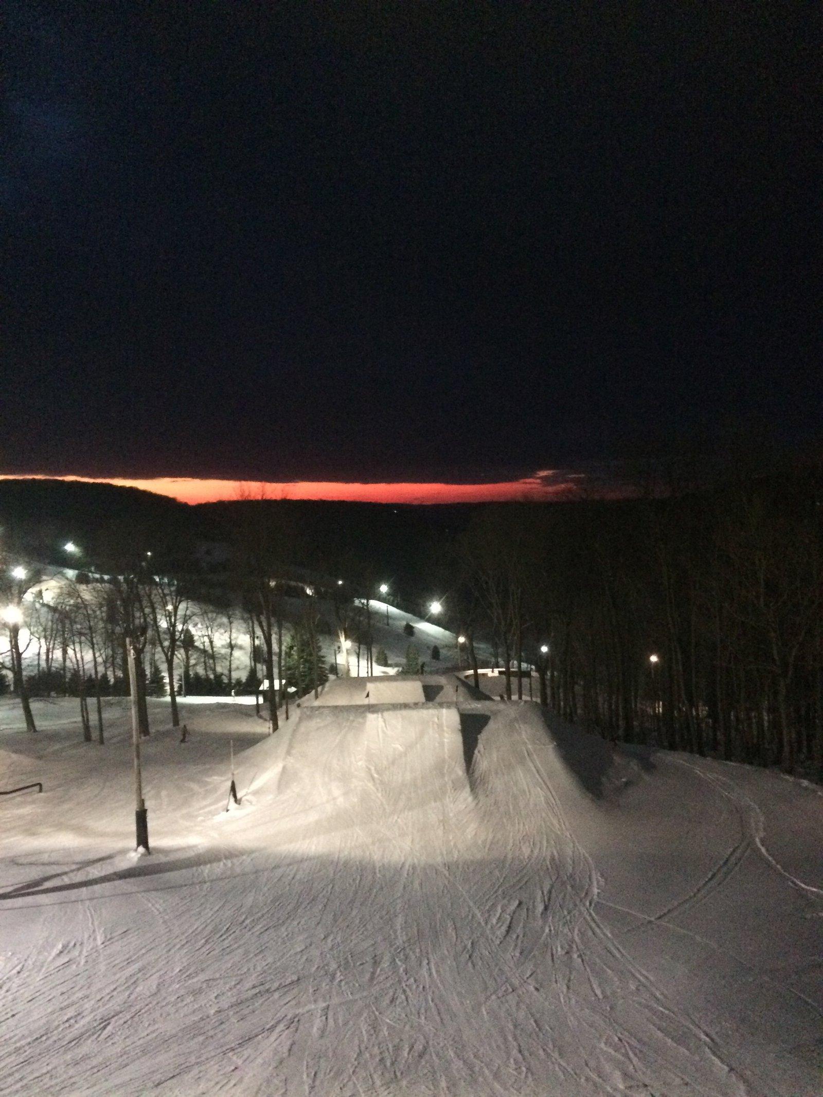 7 springs sunset
