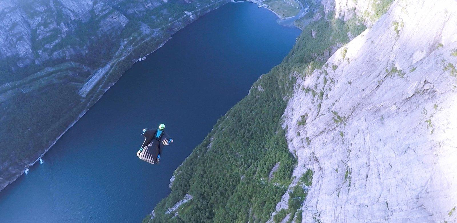 Flying in Norway