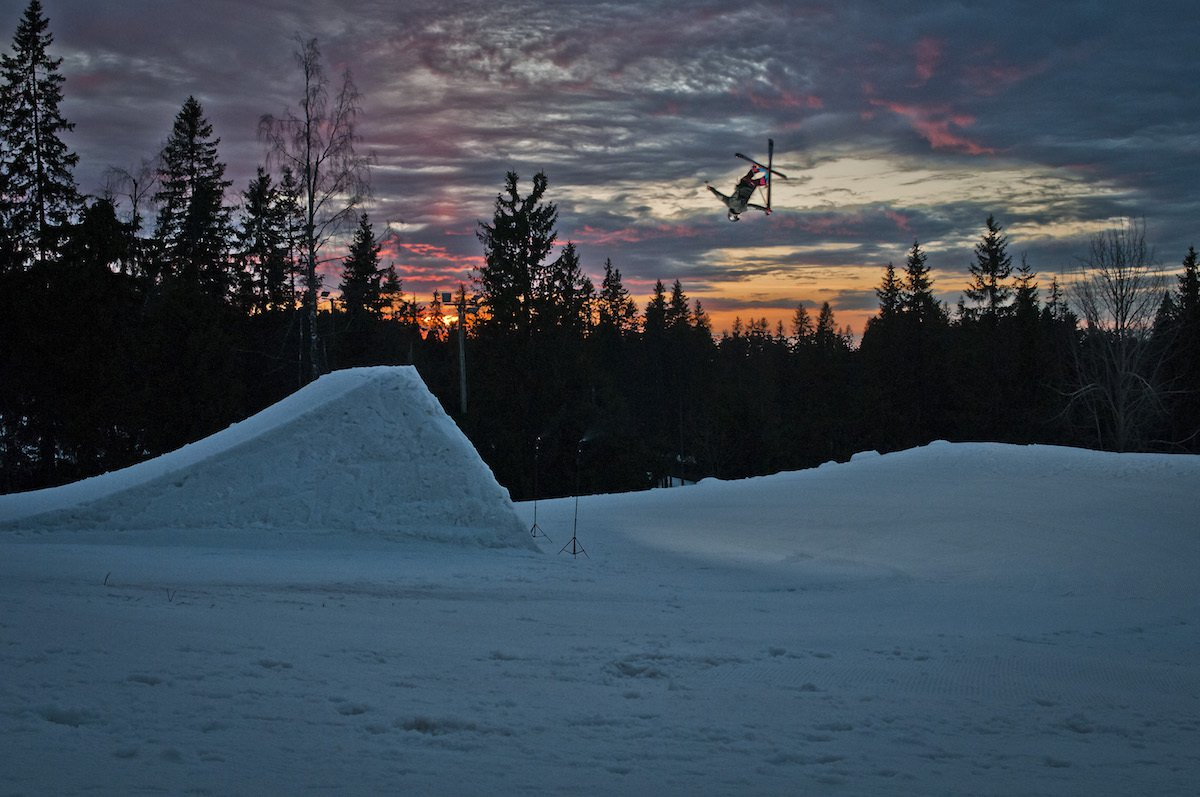 Sunset underflip