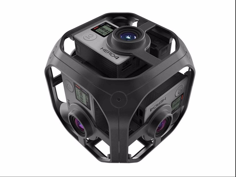 GoPro Unveils their 360-Degree Omni Rig