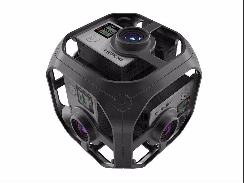GoPro Unveils their 360-Degree Omni Rig