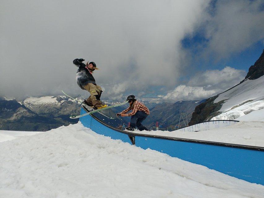 Behind The Edits: Zermatt Glacier Days