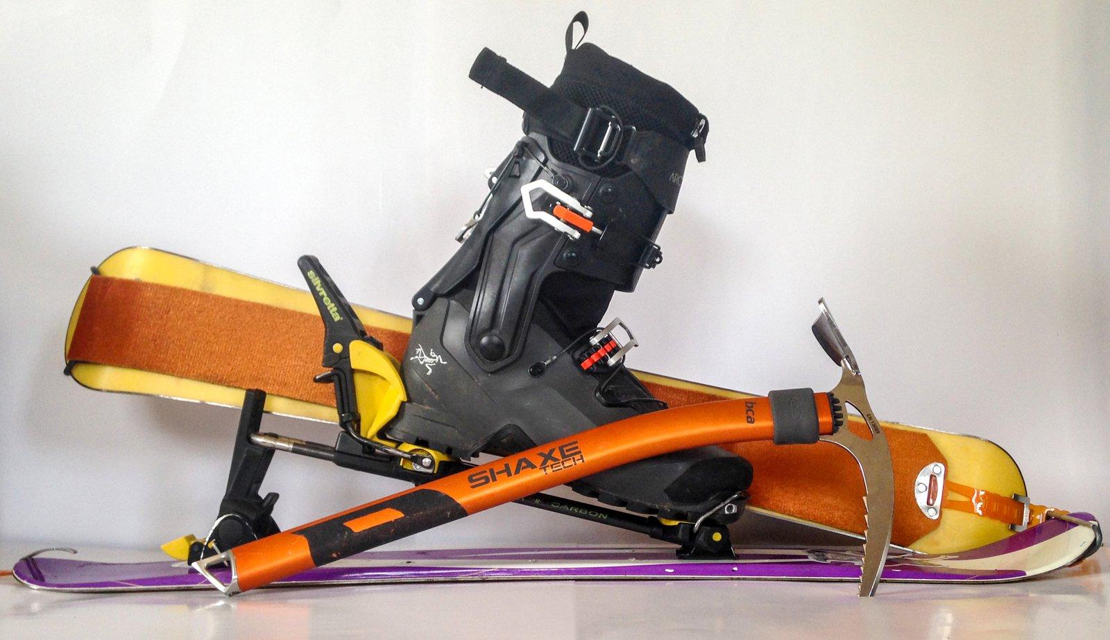 Snowblade Mountaineering