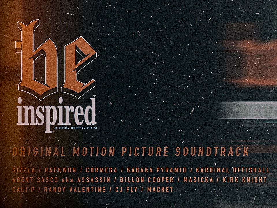BE Inspired Movie Soundtrack - Out Now