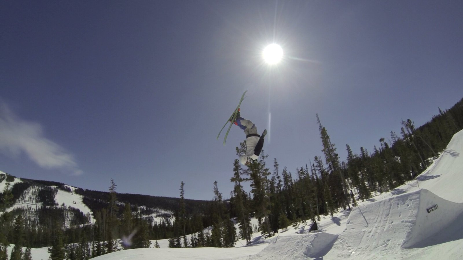 Laying one out at Big Sky