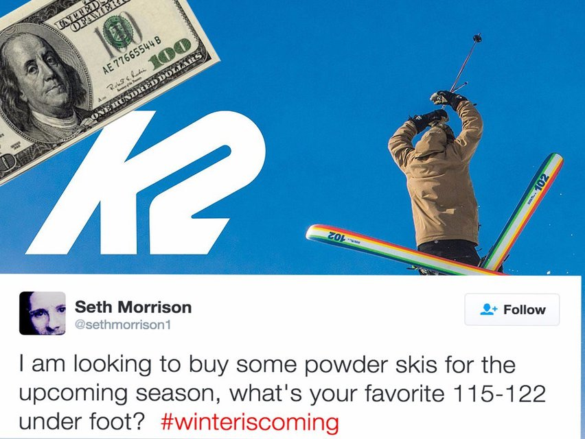 What the hell is going on at K2? Seth Morrison cut from the team.