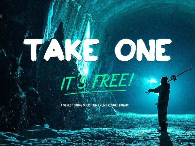 TAKE ONE its free