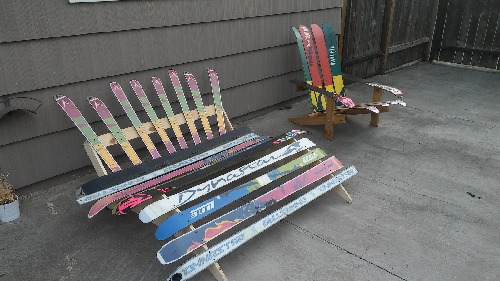 Ski Furniture (fresher than yours)