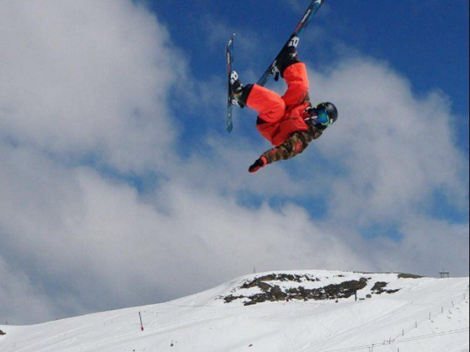 Troy Podmilsak Youngest to Triple Cork on Skis at Age 12