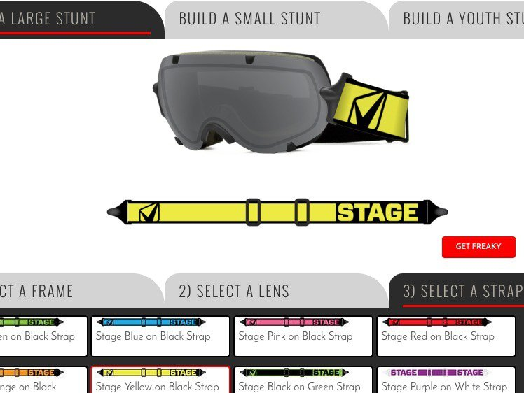 Stage: Goggles that Give Back