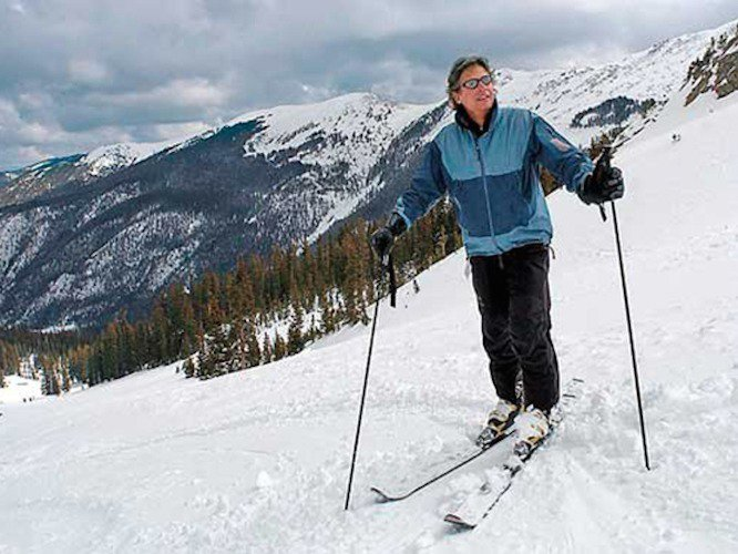 Presidential Candidate Gary Johnson is a Skier