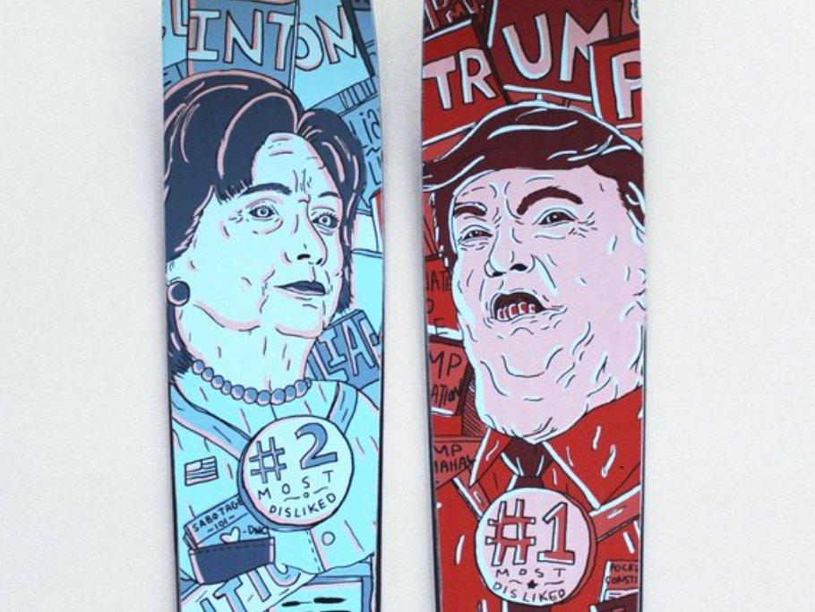 The Trump vs. Clinton Ski