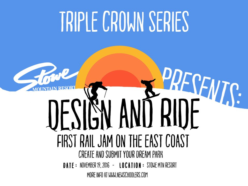 UVM Freestyle Ski Team presents: Design and Ride