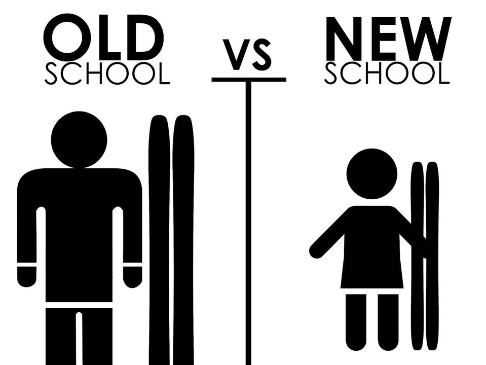 Old School vs. Newschool