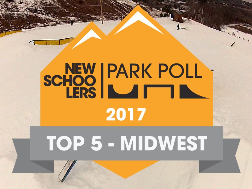 Newschoolers Park Poll '17 - Top 5 Midwest