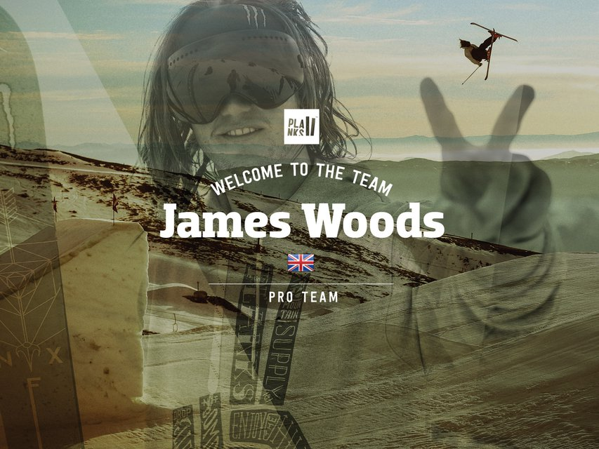 James 'Woodsy' Woods - Welcome to the team