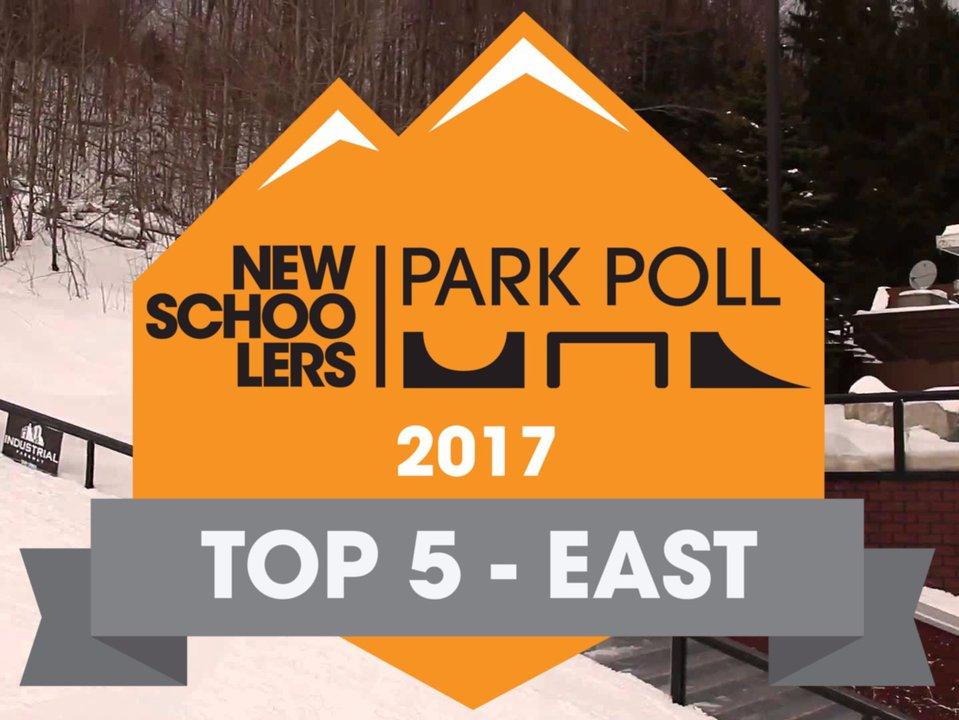 Newschoolers Park Poll '17 - Top 5 East Coast