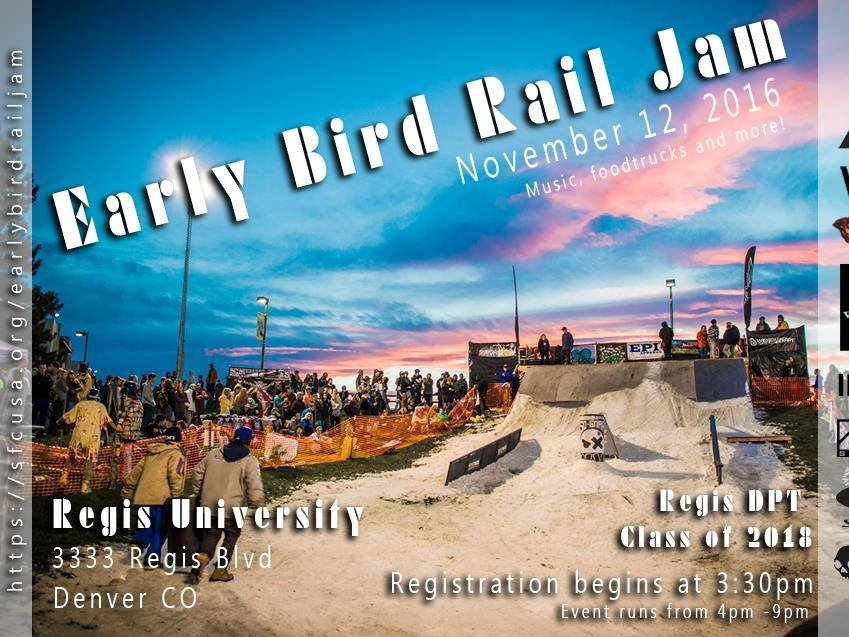 SFC Early Bird Rail Jam