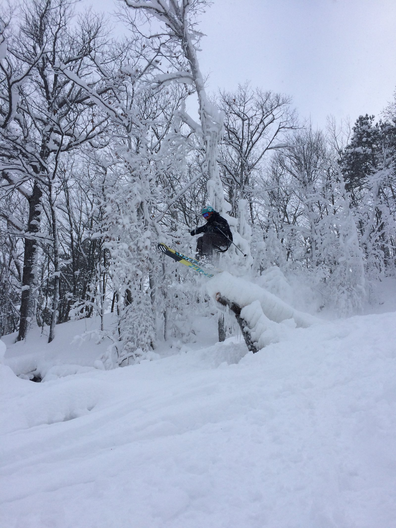 Powder Pole Jam