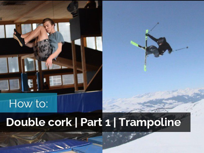 How to double cork | Part 1| How to double cork on trampoline