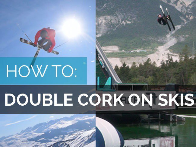 How to Double cork Part 2 - How to double cork skis