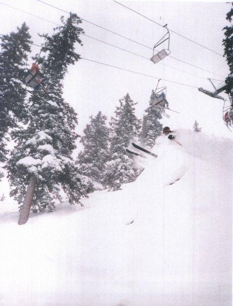 Taos, February 1985, photo by Joey Klein