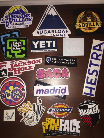 7546fec363b2 -Sticker lot. Get some free with orders