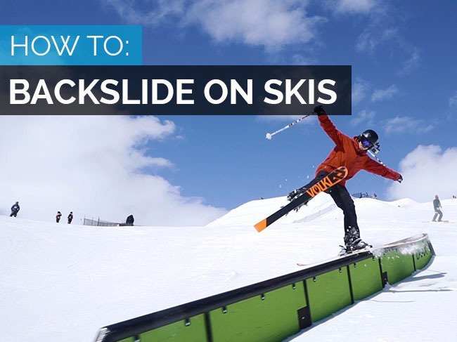HOW TO BACKSLIDE ON SKIS - TRENDIEST TRICK OF THE YEAR?