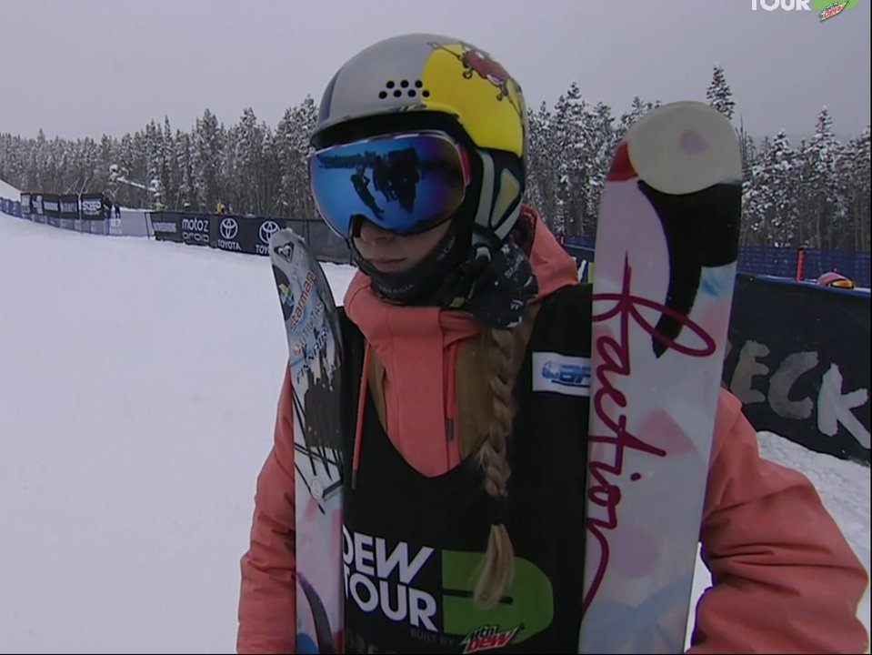 Dew Tour Women's Jump Section - Results And Recap