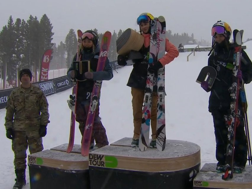 Dew Tour Women's Jib/Slopestyle - Results And Recap