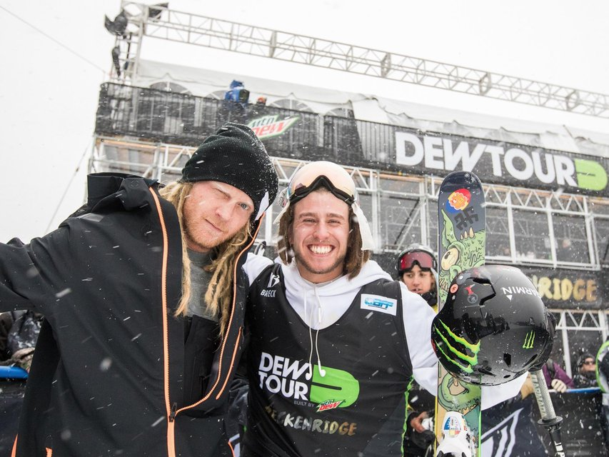 Dew Tour Men's Jib/Overall - Results And Recap