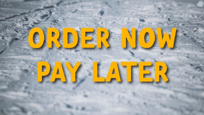 Order Now, Pay Later! - Newers.com on payment order, template online order, material release order, ring order, travel order, document order,
