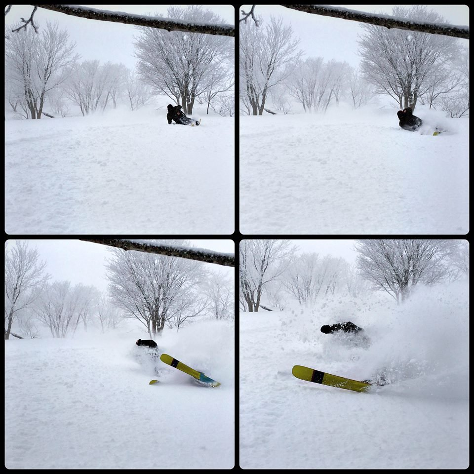 Powder Shot in HYOGO from Japan