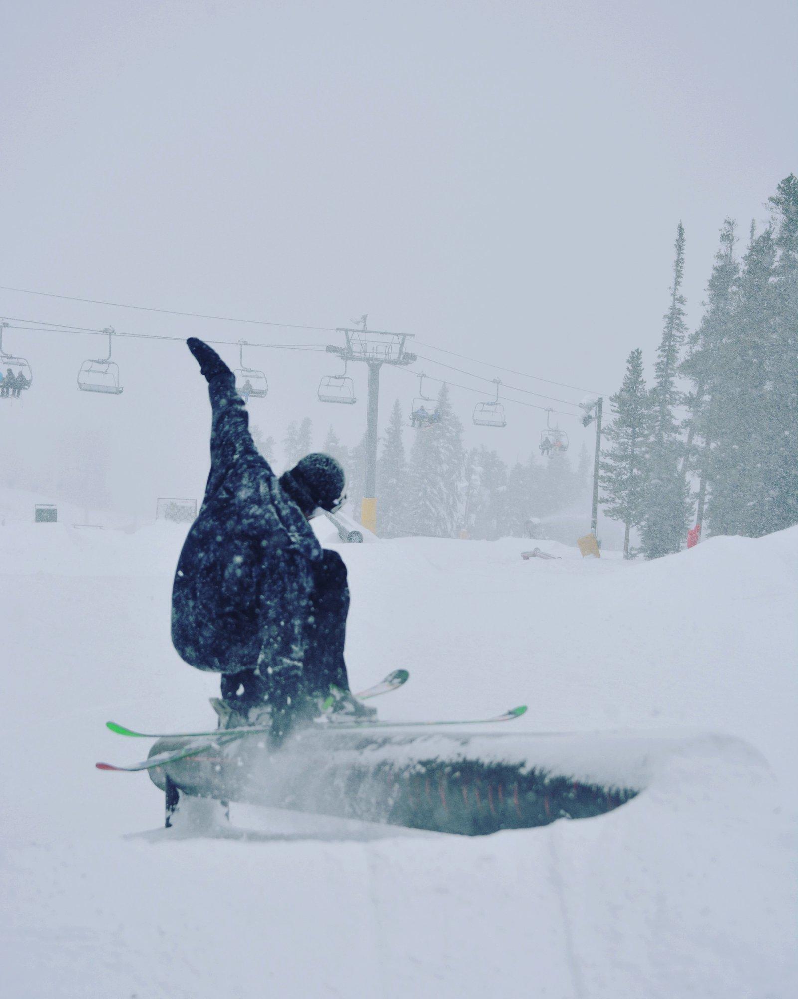 Blunt slide Snowy Days At Key