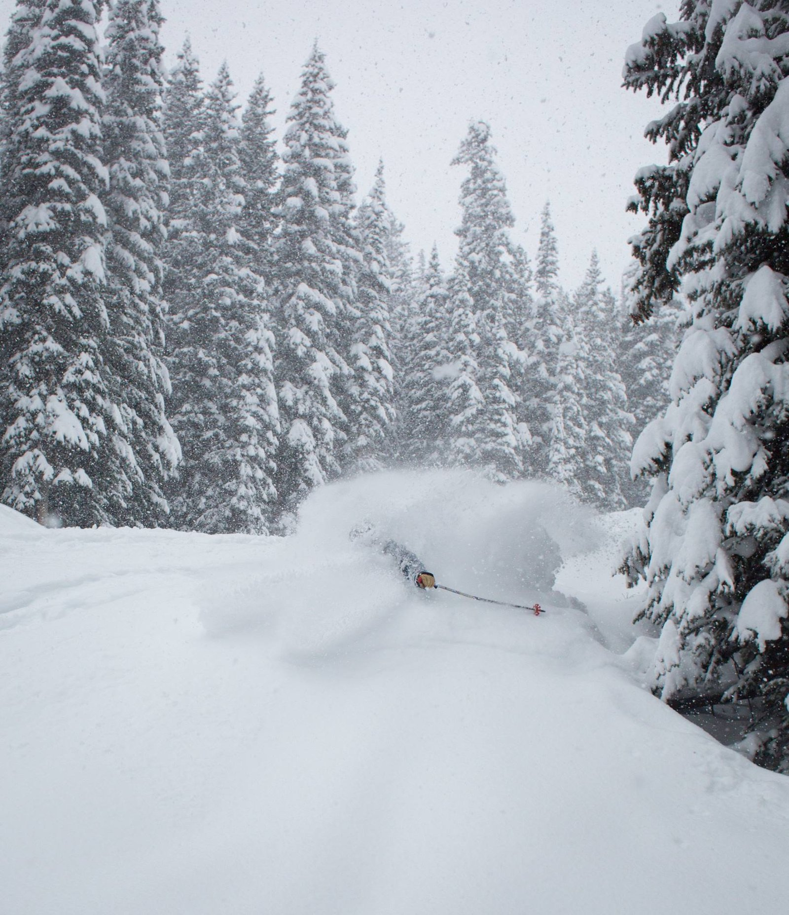 Deep Snow at Crested Butte
